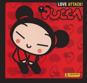 Pucca - Love Attack ! - Sticker Album - Panini - 2007