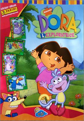 Dora L'Exploratrice (1er album) - Sticker Album Panini 2004