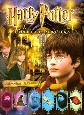 harry potter 1 h p l 39 ecole des sorciers dos marron films. Black Bedroom Furniture Sets. Home Design Ideas