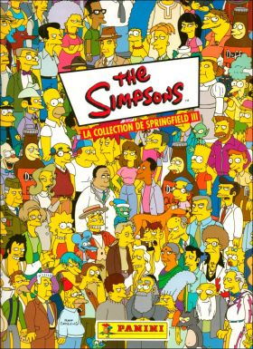 The Simpsons / Les Simpson - 3ème Album - Panini