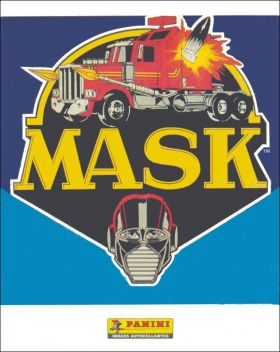 Mask - Sticker Album - Panini - 1986