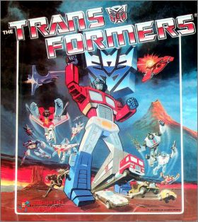 The Transformers - Hasbro -  Album Figurine Panini - 1986