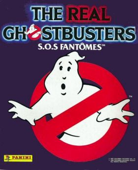 the real ghostbusters sos fant mes panini 1989 dessins. Black Bedroom Furniture Sets. Home Design Ideas