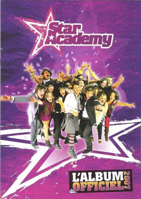 Star Academy 7 - Sticker Album - Jemma Presse - France 2007