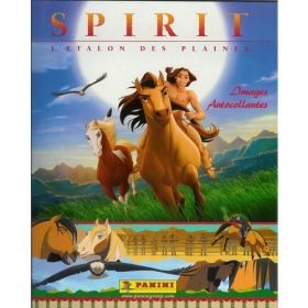 Spirit - L'Étalon des Plaines - Sticker album Panini - 2002