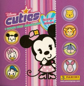 Cuties Disney - Sticker Album - Panini - Italie - 2006