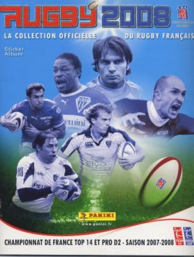 Rugby 2008 - Saison 2007-08 - Sticker Album - Panini France