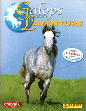 Galops pour l'Aventure - Sticker Album - Panini France 2001