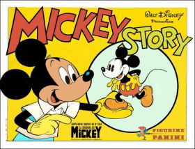 Mickey Story (Walt Disney) - Figurine Panini - Sticker 1979