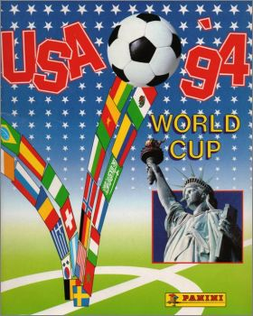 USA 94 World Cup  (Dos bleu) - Panini - 1994