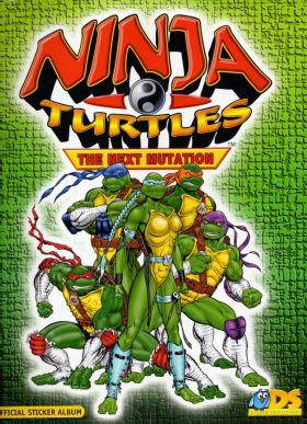 Ninja Turtles  The Next Mutation DS Sticker collections 1998