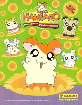 Hamtaro - Sticker album - Panini - 2003