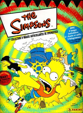 The Simpsons / Les Simpson - 2ème Album - Panini