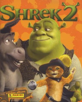 Shrek 2 - Sticker Album - Panini - 2004
