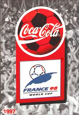 Coca Cola World Cup 1998 - Brésil
