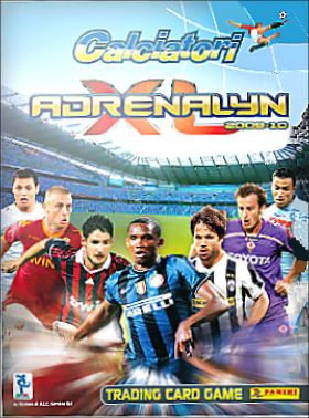 Calciatori Adrenalyn XL 2009-10 - Trading Card Game - Italie