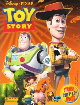 Toy Story 1 & 2 - Sticker Album - Panini - 2009