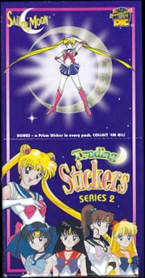 Sailor Moon - Trading stickers - Série2 - Angleterre