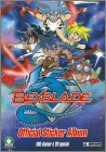 Beyblade Official Sticker Album - Preziosi - Italie - 2009