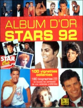Album d'Or Stars 92 - Star Club - Hors série - 1992