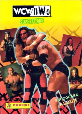 WCW nWo - Superstars (Photocard album) - Panini - USA/Canada