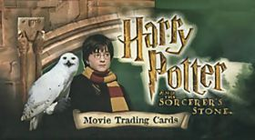 Harry Potter and the sorcerer's stone - Movie trading cards