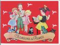 Chansons de France - Album N° 4 - Chocolat Poulain - 1957