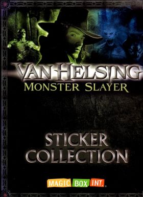 Van Helsing Monster Slayer - Sticker Collection - Magic Box
