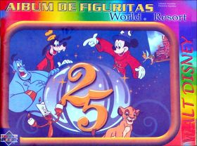Walt Disney World Resort 25 years Upper Deck Argentine 1996