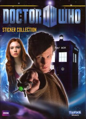 Doctor Who 4 - Saison 5 - Stickers Topps - Angleterre - 2010
