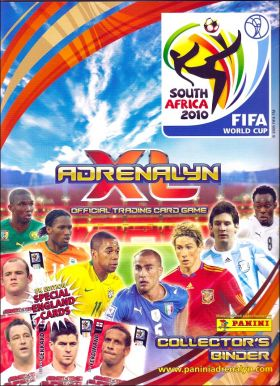 South Africa 2010 FIFA World Cup Adrenalyn XL - UK version