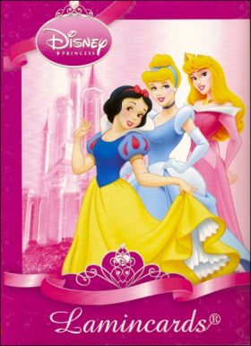 Disney Princess - Lamincards - Edibas - France - 2010