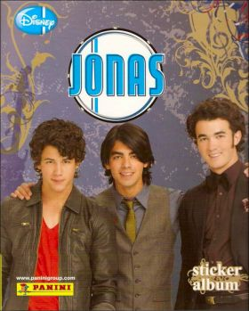 Jonas (Disney) - Sticker Album - Panini - Italie - 2009