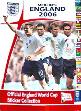 Merlin's England 2006 - Official England World Cup