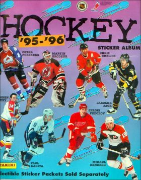Hockey '95-'96 - Album sticker Panini - USA / Canada 1995