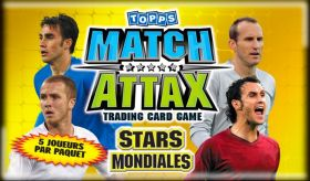 Match Attax - Stars Mondiales - Topps - Football