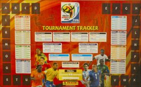 South Africa 2010 FIFA World Cup - Poster Panini