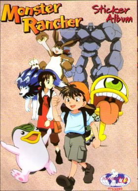 Monster Rancher - Sticker Album - Mondo TV - Italie - 2001