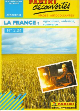 N° 3.04 : La France : Agriculture, Industrie, Commerce