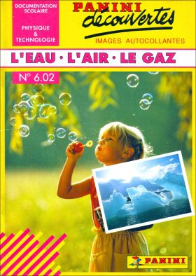 N° 6.02 - L'eau - L'air - Le Gaz - France