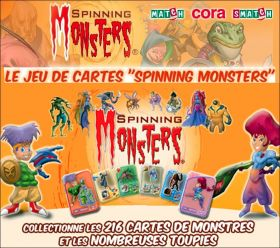 Spinning Monsters - Jeu de cartes - Match - Cora - Smatch
