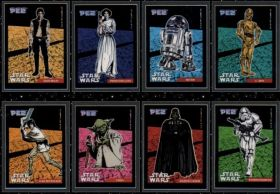 Star Wars - PEZ stickers