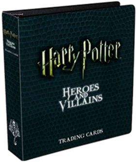 Harry potter Heroes and Villains  - Trading Cards - anglais