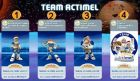 Cartes Team Actimel