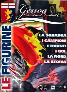 Genoa Cricket and Football Club - Le Figurine 2010/11 Italie