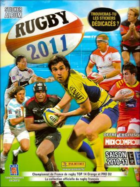 Rugby 2011 - Panini - France