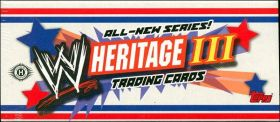 WWE HERITAGE III - Toops - Trading cards - Anglais