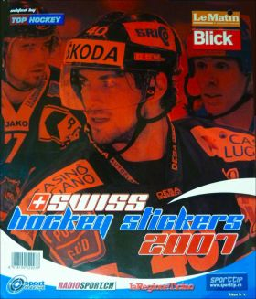 Swiss Hockey Stickers  2007 - Album Top Hockey - Suisse