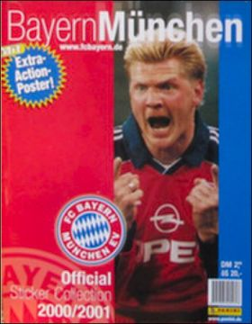Bayern München 2000/2001 - Panini - Allemagne