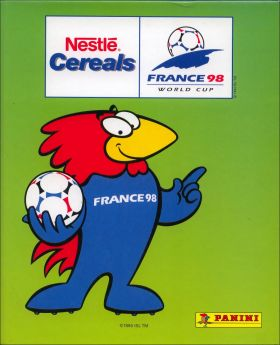 World Cup France 98 - Cards- Nestlé Céréals - Panini